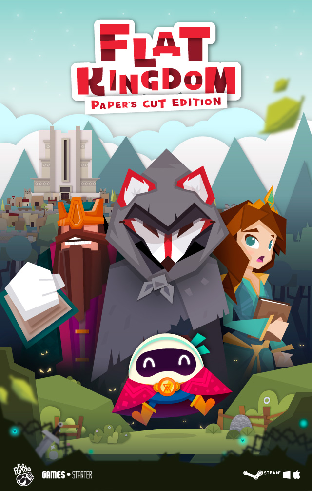 Flat Kingdom Paper's Cut Edition